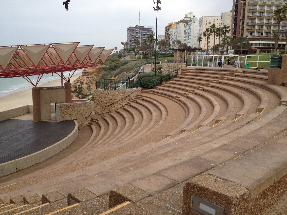 Amphiteater in the Northern part of seafront of Netanya