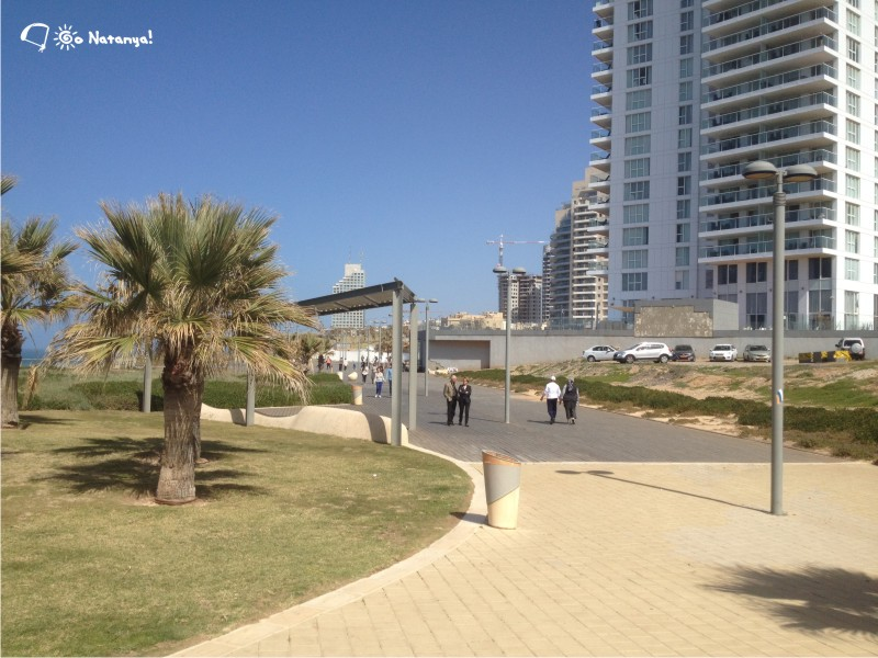 South part of Seafront, Netanya, Israel